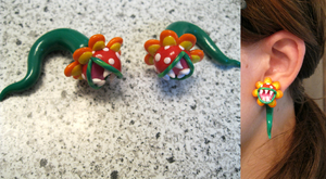 Petey Piranha Ear Gauges by Kexita