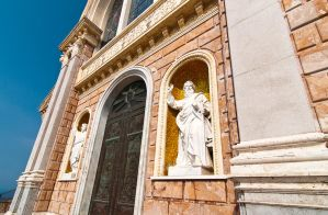 Sanctuary of the black Madonna outside detail by WETkitchen