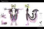 Tuggy Skunk Character Sheet by Tigsie