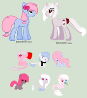 Cotton Bow x Love Poison Babies-OPEN by PizzaLover-Pony