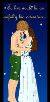Peter Pan and his Wendy by perfect-fairytale