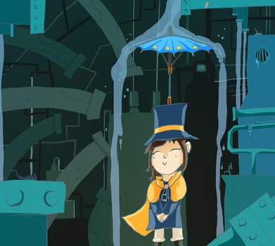 A Hat in Time - Sewer Level by JacketRockArt