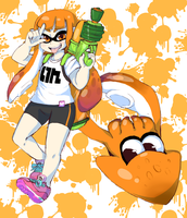 Splatoon Inkling For Tumblr Contest by the-chinad011-house