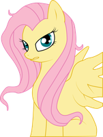 Angry Fluttershy by NebulonB100