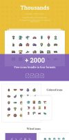 Free Thousands: 2000+ Free Icons by Designslots
