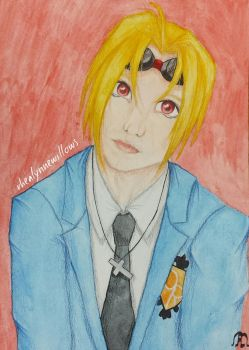 Gift for Vic Mignogna  by rhealynnewillows