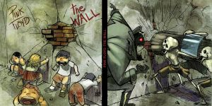 the wall by toonfed