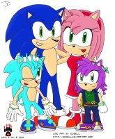 Sonic's Family Collab by Midnight-The-Cat