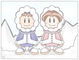 Ice Climbers by pinkx2