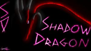 Shadow Dragon Banner by TatterTailArt
