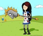 It's adventure time, Alice by RancidAlice