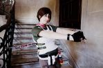 rebecca chambers resident evil 5 gold edition by danycamaleon