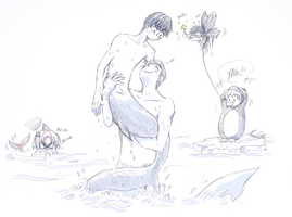 MakoHaru Free! by maryluis