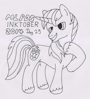 MLPDS-InkTober #29 by Uber--Dragon
