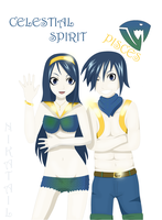 OC Celestial Spirit - Pisces - Fairy Tail by NikaTail
