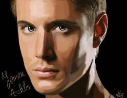 Jensen Ackles by MissHeroes94