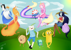 Adventure Time (remake) by Sofy-Arts