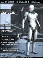 HFS CyberSuit for Genesis by DarioFish
