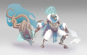 Hextech Kindred by BrotherBaston