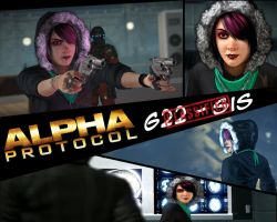 Alpha protcol - sis wallpaper by RipCityXX1