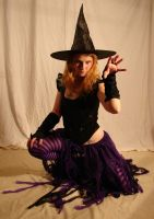 Jodi Purple Halloween Witch 16 by FantasyStock