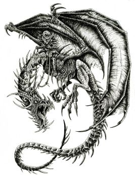Wyrm of the Orc by WretchedSpawn2012