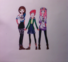We are girls. by michiyo-dolly