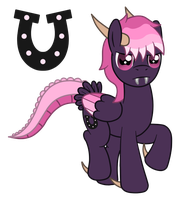 OC: Dark Gauntlet the Pegasus Mirum by SilverRomance