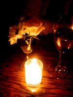 Candelight and Wine by stitch52481