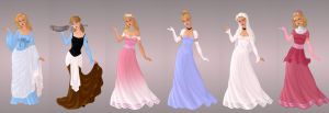 Cinderella Wardrobe in Goddess Scene by autumnrose83