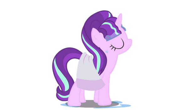 Starlight with her towel vector by Summer5tar