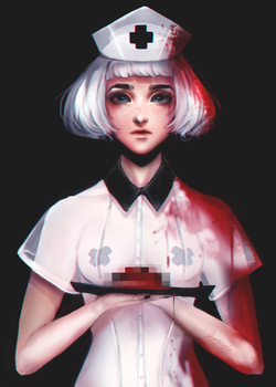 The surgeon's assistant by kittysophie