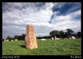 Long meg  stone circle rld 51 d by richardldixon
