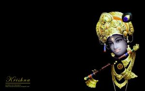Wallpaper: Krishna by msahluwalia