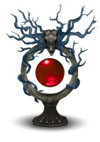 Satyr Blood Orb by Ana-Iliem