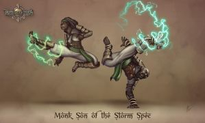 Reconquista- Monk Son of the Storm by b-cesar