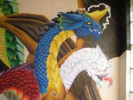 my tiamat mural 2 by arcanineryu