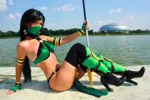 Jade Mortal Kombat cosplay by Nemu013