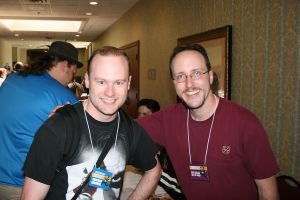 Meeting Doug Walker by BJSparky
