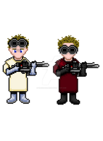 Doctor Horrible's Singalong Blog Pixel Art by Silverhammer37