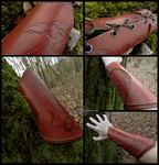 Dragon bracer by Noir-Azur