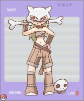 Pokemon 105: Marowak by jigglysama