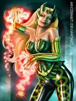 Amora the Enchantress by ArcosArt