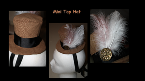 Steampunk: Mini Top Hat by Anja-kun