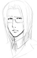Younger Vexen sketch plz by SnowpirateRoy