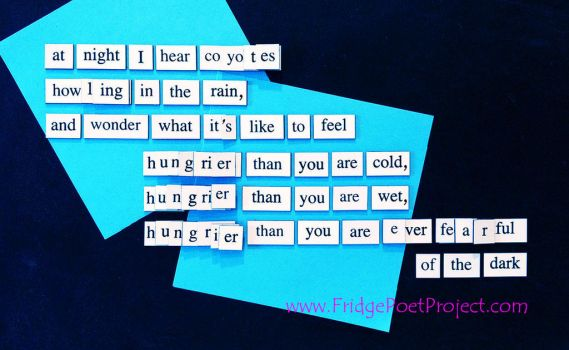 The Daily Magnet #336 by FridgePoetProject