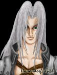 Sephiroth -colored- by Anilede