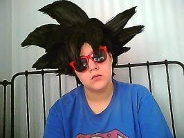 Goku Wig WIP by Permanent-Chaos