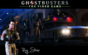Ghostbusters Wallpaper Ray by MartynTranter
