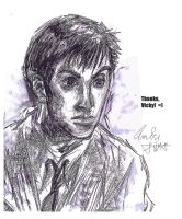 Tenth Doctor for VM by AmberPalette